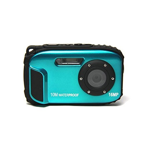 KINGEAR 16 MP Waterproof Digital Camera-Blue