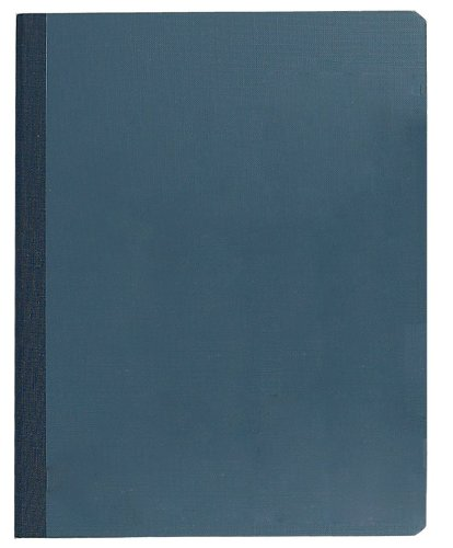 tops-lab-notebook-85-x-11-inches-narrow-ruled-60-sheets-yellow-pages-with-blue-cover-35130