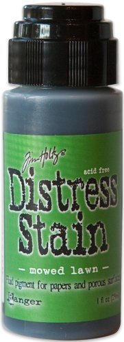 Ranger Tim Holtz Distress Stain, 1-Ounce, Mowed Lawn