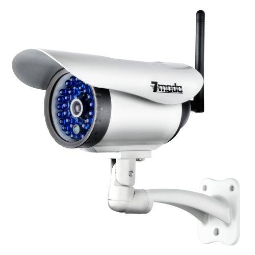 Zmodo Wireless Security Camera System Network 80ft IR Weatherproof IP Wi-Fi CCTV Surveillance Camera
