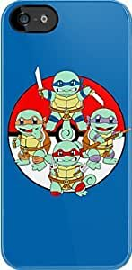 SUUER Ninja Squirtle Custom Hard CASE for iPhone 5 5s Durable Case Cover by Maris's Diary