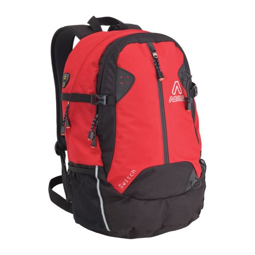 Asolo Switch 35-Liter Technical Daypack (Red/Black, Medium), Bags Central
