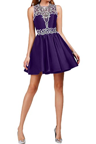 Missdressy - Robe - Plissée - Femme -  violet - 50