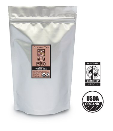 Octavia AÇAI BERRY organic white tea (bulk)