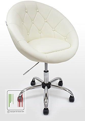 Sedia girevole ufficio o camera con seduta imbottita