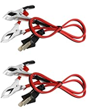 FASTROHY 2PCS 12V DC 2.3ft Generator Charging Cord Cable for Yamaha ET950 Generators