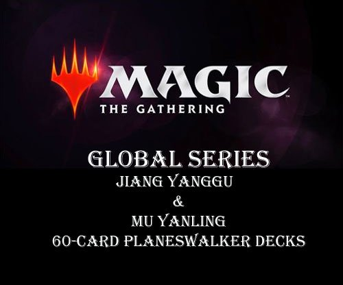 MTG Magic The Gathering Global Series Double Deck Jiang Yanggu & Mu Yanling – 120 cards