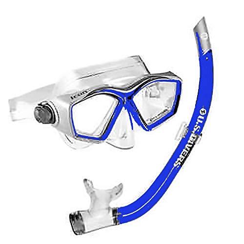(U.S. Divers Acapulco Jr. Mask/Bula Jr. Snorkel -Blue)
