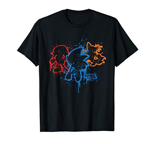 Sonic & Friends Spray Paint T-Shirt]()