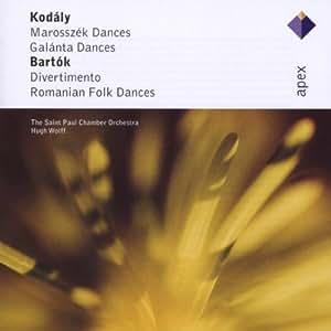 Kodaly: Marosszek Dances / Galanta Dances