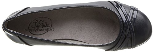 Flat LifeStride Inky Women's Navy Aliza rE1qP8r