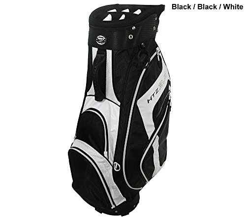 Hot-Z Golf 3.5 Cart Bag Black/White