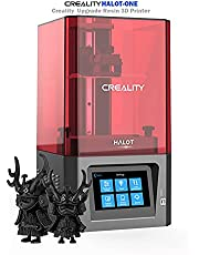 Creality Upgrade HALOT-ONE CL-60 Resin 3D Printer UV Photocuring LCD Resin 3D Printer with High Precise Integral Light Source, Fast Printing 5.96 inch 2K Monochrome LCD, Printing Size 127*80*160mm