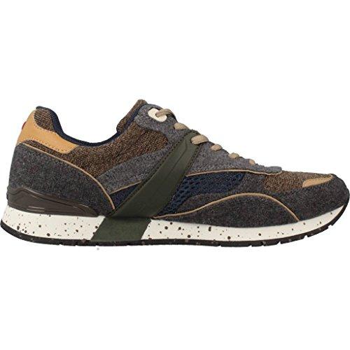 Calzado deportivo para hombre, color gris , marca NAPAPIJRI, modelo Calzado Deportivo Para Hombre NAPAPIJRI RABARI Gris GRIGIO/BEIGE