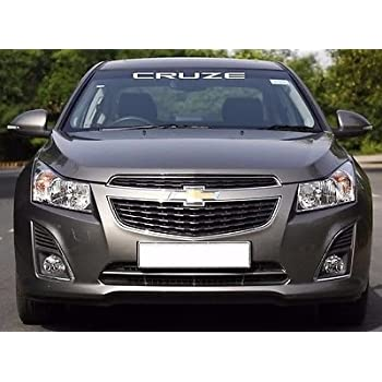 White Chevy Cruze >> Chevy Cruze Windshield Decal White Default Color