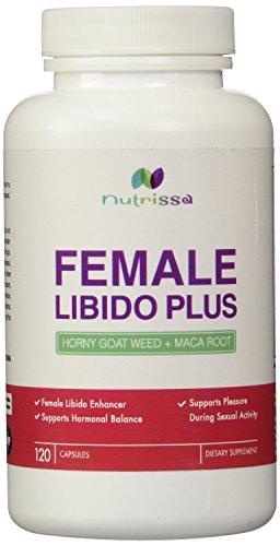 Potenciador de la Libido femenina - Horny Goat Weed + Maca Root - hierbas complejo para la mujer ayuda a aumentar la libido y el placer de la actividad Sexual - afrodisiaco Natural - 120 cápsulas
