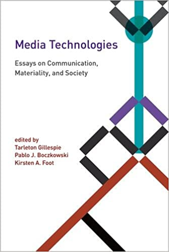 media technologies essays on communication materiality and  media technologies essays on communication materiality and society  inside technology st edition