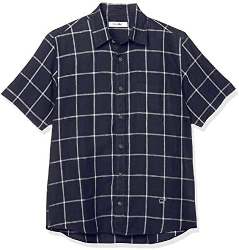 カジュアルシャツ ウインドペン半袖シャツ メンズ