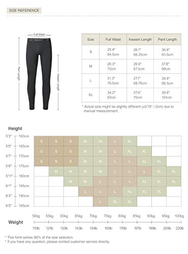 David Archy Womens Fleece Lined Low Rise Cotton Baselayer Pant Winter Warm Wicking Leggings Thermal Bottom