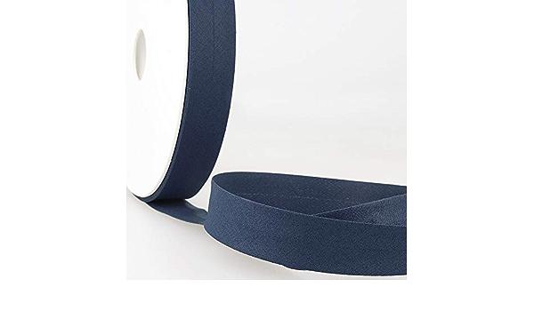 20 mm 40 m Rolle Beige Stephanoise Schr/ägband Polycotton