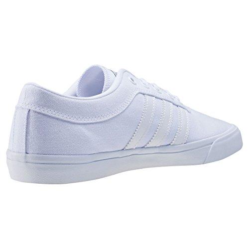 adidas SELLWOOD - Zapatillas deportivas para Unisex, Blanco - (FTWBLA/FTWBLA/FTWBLA) 42