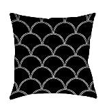 Best Thumbprintz Pillows - Thumbprintz Art Deco Circles Black and White Throw/ Review
