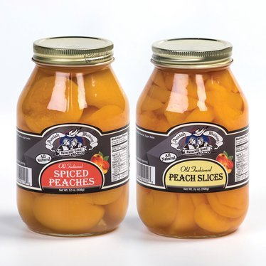 Pickled Peaches (Troyer Cheese Inc Quart Spiced Peach Halves 32oz)