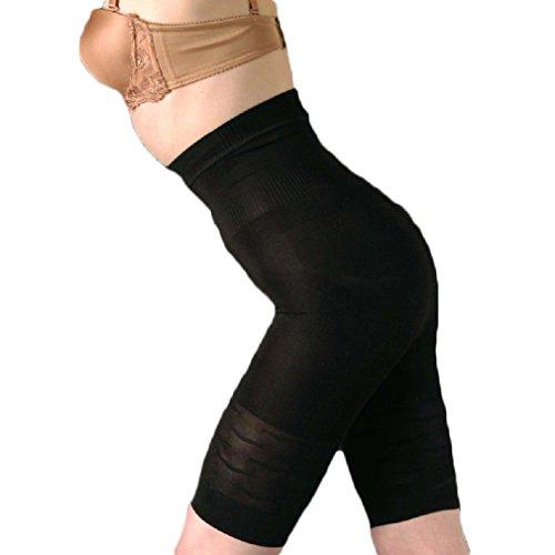 Bakerdani Womens Hi-waist Body Shaper Tummy Control Thigh Slimming (Just Enough Hi Waist Brief)