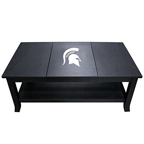 Imperial Officially Licensed NCAA Furniture: Hardwood Coffee Table, Michigan State Spartans - Ncaa Furniture