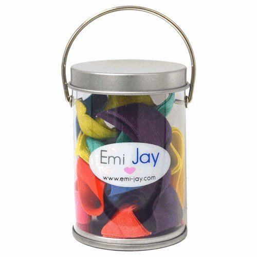 Emi-Jay Hair Ties- Tin of 8- Spring Collection -