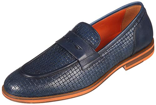 Geox Men's U Bayle A Loafers, Blue (Navy C4002), 6.5 UK