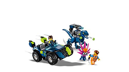 41mzEnNskuL - LEGO THE LEGO MOVIE 2 Rex's Rex-treme Offroader! 70826 Dinosaur Car Toy Set For Boys and Girls, Action Building Kit (230 Pieces)
