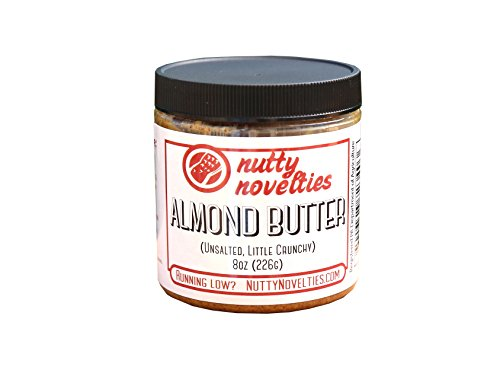 Salted Sweet Sugar - Nutty Novelties Classic Almond Butter - High Protein, Sweet Almond Butter - No Added Sugar - All-Natural, Pure Almond Butter Free of Cholesterol & Preservatives - Vegan Almond Butter - 8 Ounces