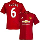 Manchester United Home Pogba Jersey 2016 / 2017 (PS-Pro Player Printing) - L