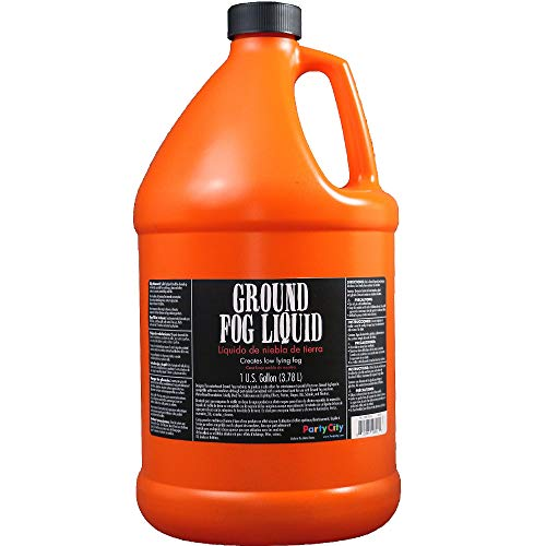 Party City Ground Fog Liquid Halloween Party Supplies, Special Effects, 1 Gallon