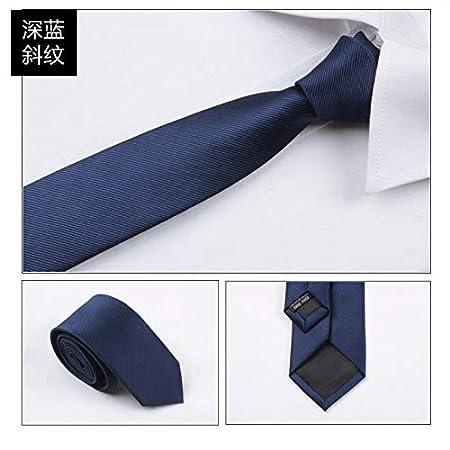 LBBJJ Corbata de Moda clásica Corbata Versión Coreana de la Camisa ...