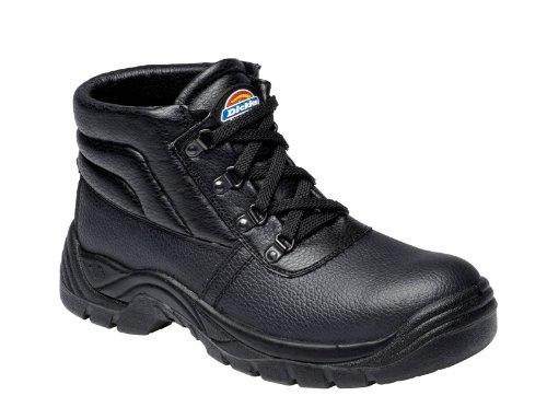 Dickies , Chaussures de sécurité pour homme Noir Noir
