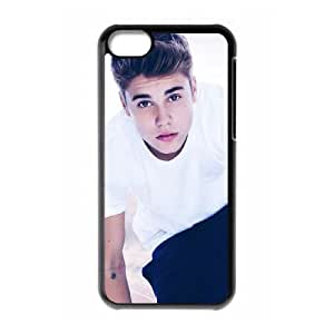 iPhone 5c Cell Phone Case Black Justin Bieber lvij