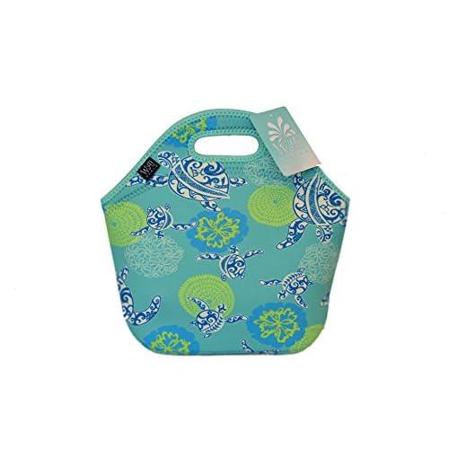 64e015a809ba new Neoprene Insulated Lunch Bag with Zipper, for Women, Girls, Kids ...