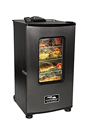 TopOne Masterbuilt 20070411 30 inch Top RF Controller Electric Smoker with Window New by TopOne