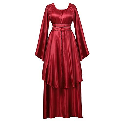 frawirshau Women's Costume Renaissance Irish Medieval Dress Vintage