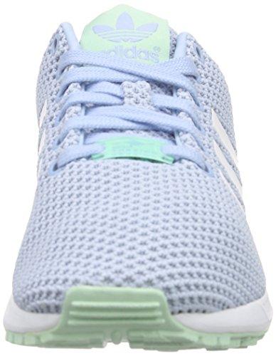 ZX Damen Green Clear Blau Flux Ftwr adidas F15 White Sky Sneaker Frozen qAw5FvvC