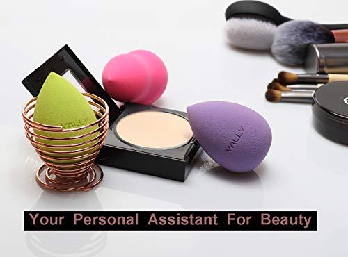 5 Pcs Makeup Sponge Set Blender Beauty Cosmetics Foundation Blending for Liquid Cream and Powder Multi-colored