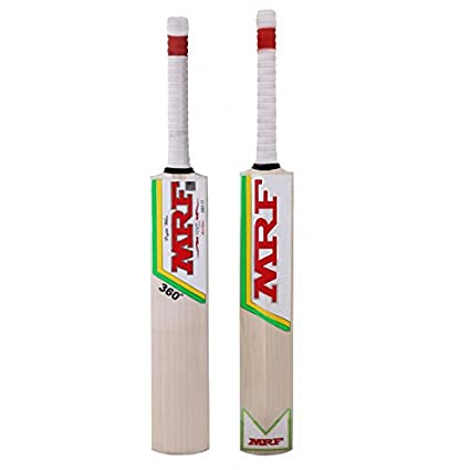 4abe480e9 MRF 360 English Willow Cricket Bat Full size  Amazon.in  Sports ...