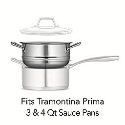 Tramontina Prima 3 Quart 18/10 Stainless Steel Steamer Insert