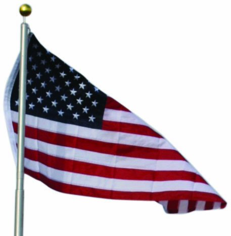 Birds Choice American Flag For Ultimate Telescoping Pole