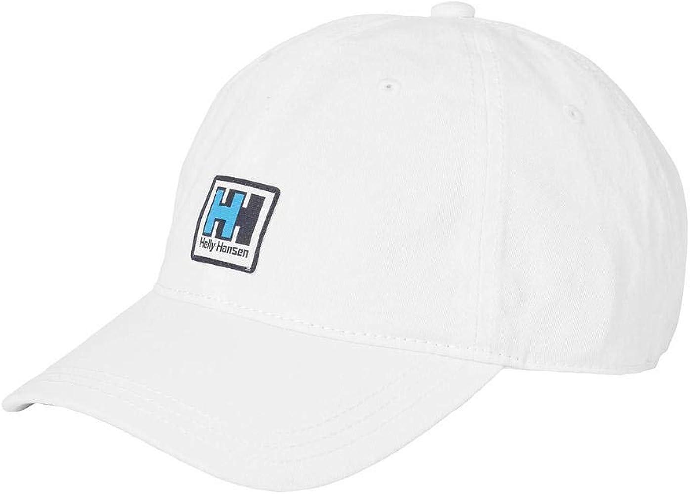 Helly Hansen HH Logo Gorra, Unisex Adulto, Blanco, Talla Única ...