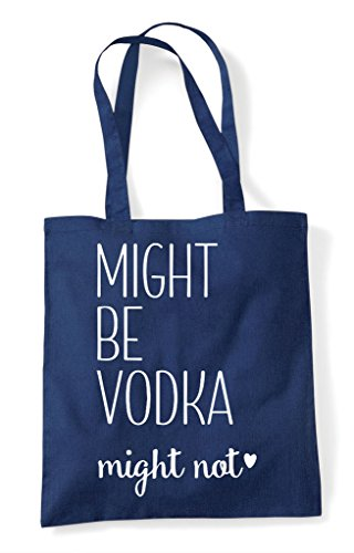 Tote Shopper Not Vodka Bag Might Navy Be FqOXw5xtE
