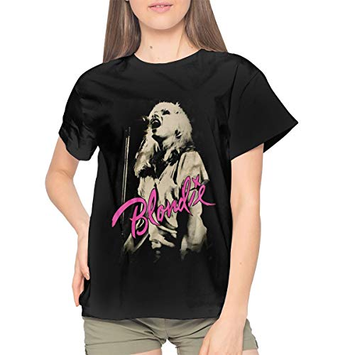 Woman Blondie Cool Black T-shirt, S to XXL