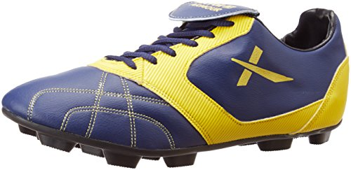 Vector X Armour Football Shoes, UK 4 (Blue)